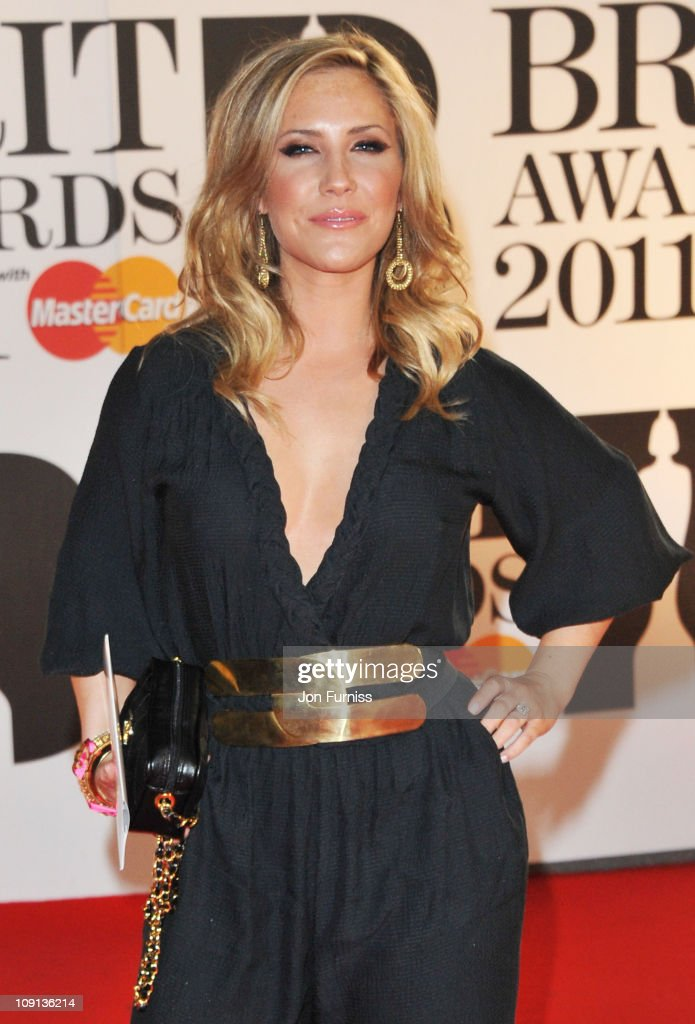 Heidi Range attends The BRIT Awards 2011 at O2 Arena on February 15, 2011 in London, England.