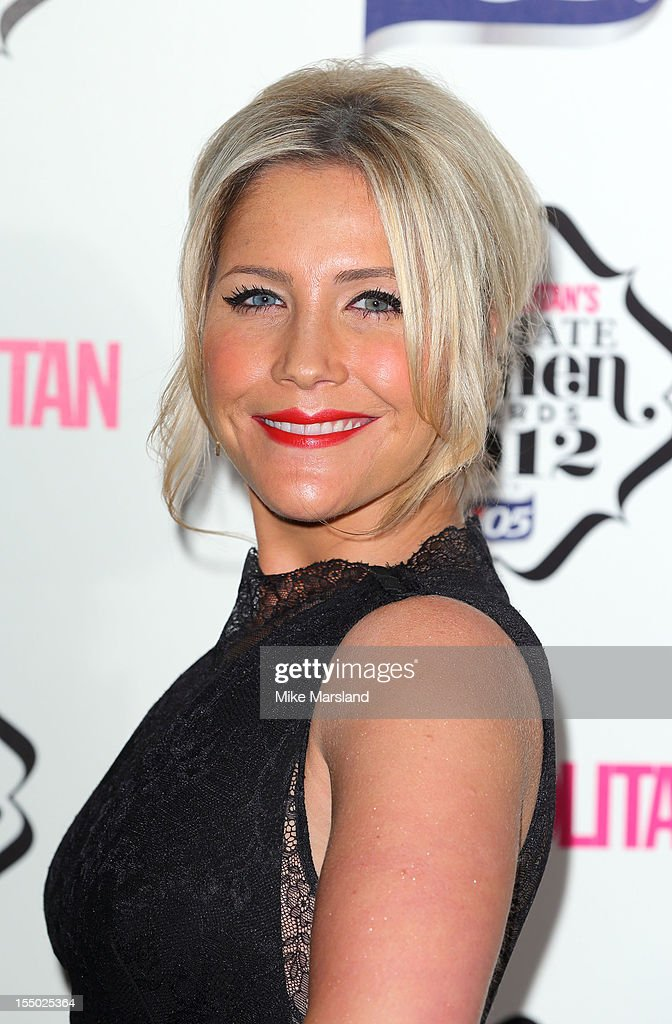 Heidi Range attends the Cosmopolitan Ultimate Woman of the Year awards at Victoria & Albert Museum on October 30, 2012 in London, England.