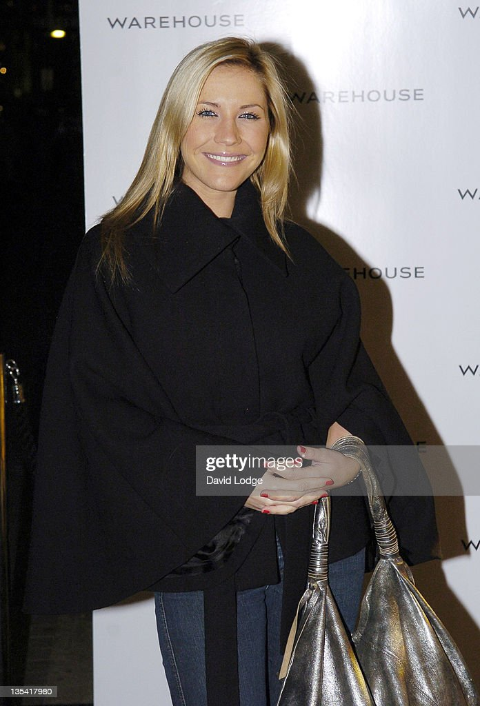 Heidi Range during Warehouse Store Re-Launch Party - September 28, 2005 at Argyll Street in London, Great Britain.
