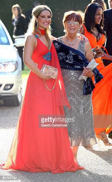 Heidi Range of SugaBabes arrives at Nelson Mandelas 90th Birthday dinner on June 25 2008 in London