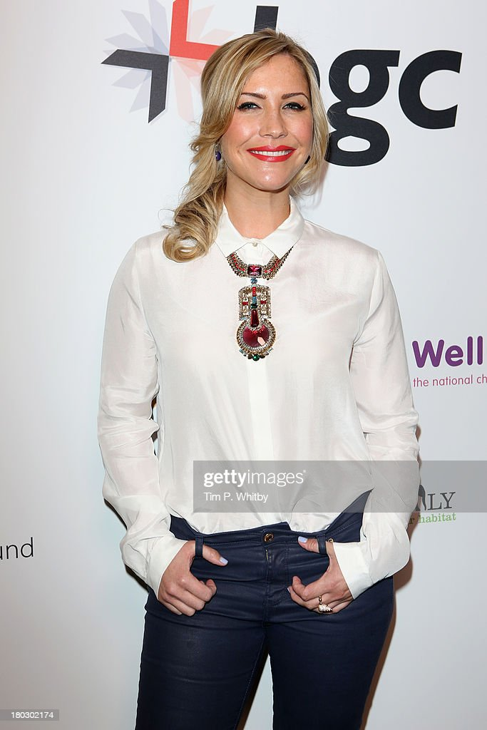 Heidi Range poses during the BGC Charity Day 2013 at BGC Partners on September 11, 2013 in London, England.