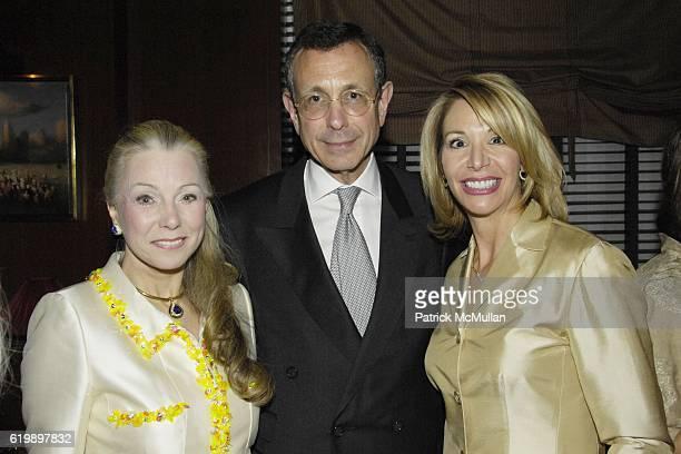 Heidi Roberts Allen Roberts and Susan Marshal attend ADAM GOPNIK Dinner at Daniel on April 7 2008 in New York City