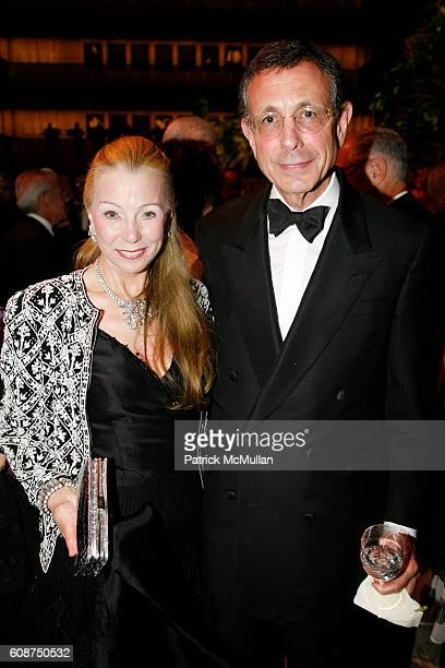 Heidi Roberts and Allen Roberts attend NEW YORK CITY OPERA's FALL FETE A French Celebration at New York State Theater on October 2 2007 in New York...