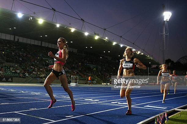 Heidi See of New South Wales wins the womens 1500m Open during the Australian Athletics Championships at Sydney Olympic Park on April 2 2016 in...