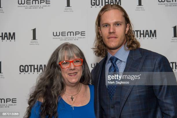 Heidi Syndergaard and New York Mets Pitcher Noah Syndergaard attend Gotham Magazine's Celebration of it's Late Spring Issue with Noah Syndergaard at...