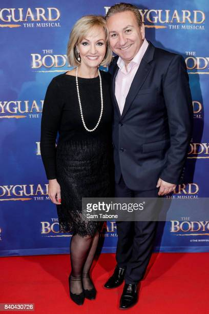 Heidi Victoria and Ange Phillipou during a production media call for The Bodyguard at Regent Theatre on August 29 2017 in Melbourne Australia