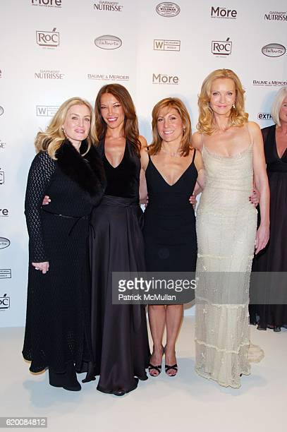 Heidi Weisel Chung Winstanley Lesley Jane Seymour and Joan Allen attend MORE MAGAZINE hosts WILHELMINA 40 MODEL SEARCH at Cipriani NYC on February 20...