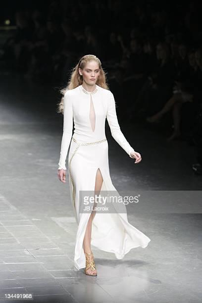 Heidi Whiworth wearing Alexander McQueen Spring/Summer 2006