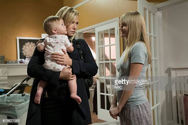 UNIT 'Heightened Emotions' Episode 1805 Pictured Kelli Giddish as Amanda Rollins Lindsay Pulsipher as Kim Rollins