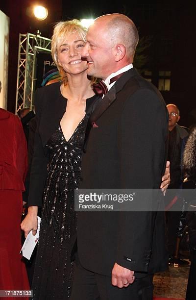 Heike Drechsler And New Friend Steffen Pfichtner The 'Ball Of Stars' Im Rosengarten in Mannheim