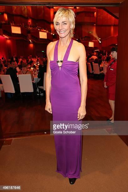 Heike Drechsler during the German Sports Media Ball at Alte Oper on November 7 2015 in Frankfurt am Main Germany