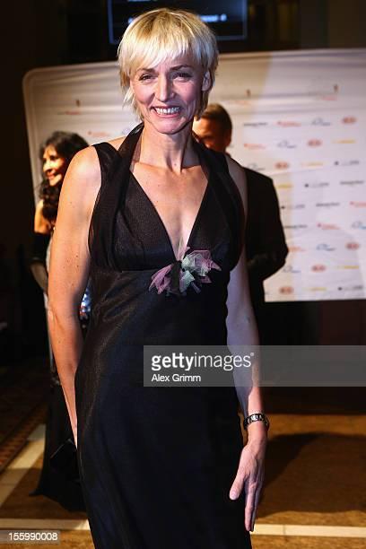 Heike Drechsler poses during the 31 Sportpresseball at Alte Oper on November 10 2012 in Frankfurt am Main Germany