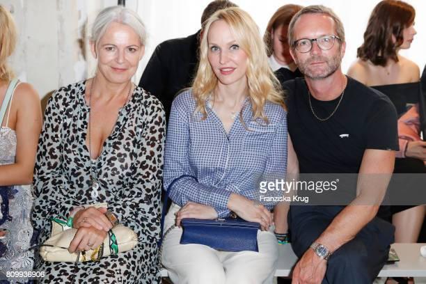 Heike Haag Anne MeyerMinnemann and Markus Luft attend the Dorothee Schumacher show during the MercedesBenz Fashion Week Berlin Spring/Summer 2018 at...