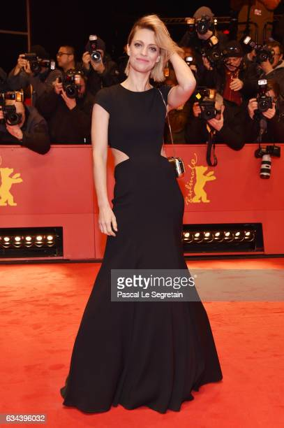Heike Makatsch attends the 'Django' premiere during the 67th Berlinale International Film Festival Berlin at Berlinale Palace on February 9 2017 in...
