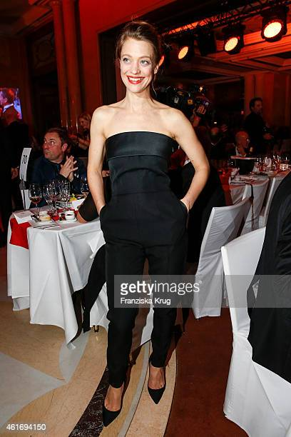 Heike Makatsch attends the German Film Ball 2015 on January 17 2015 in Munich Germany