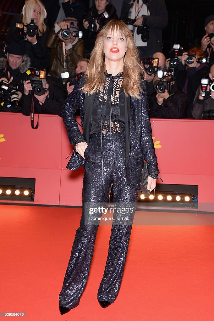 Heike Makatsch attends the 'Hail, Caesar!' premiere during the 66th Berlinale International Film Festival Berlin at Berlinale Palace on February 11, 2016 in Berlin, Germany.