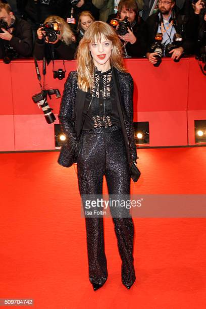 Heike Makatsch attends the 'Hail Caesar' Premiere during the 66th Berlinale International Film Festival on February 11 2016 in Berlin Germany