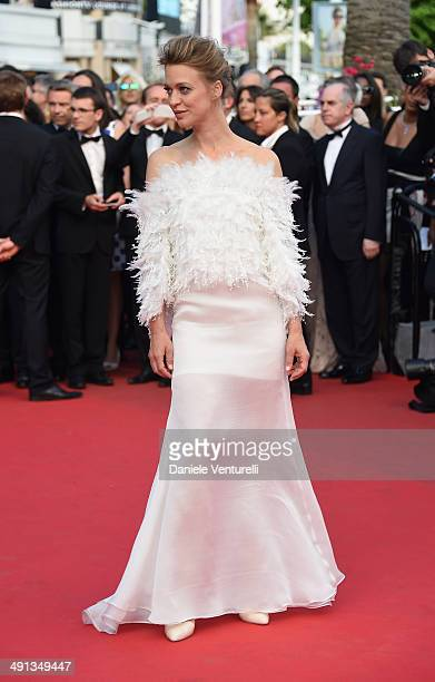 Heike Makatsch attends the 'How To Train Your Dragon 2' Premiere at the 67th Annual Cannes Film Festival on May 16 2014 in Cannes France