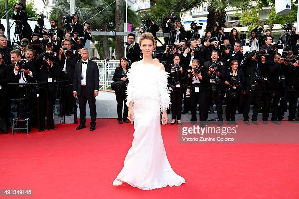 Heike Makatsch attends the 'How To Train Your Dragon 2' premiere during the 67th Annual Cannes Film Festival on May 16 2014 in Cannes France