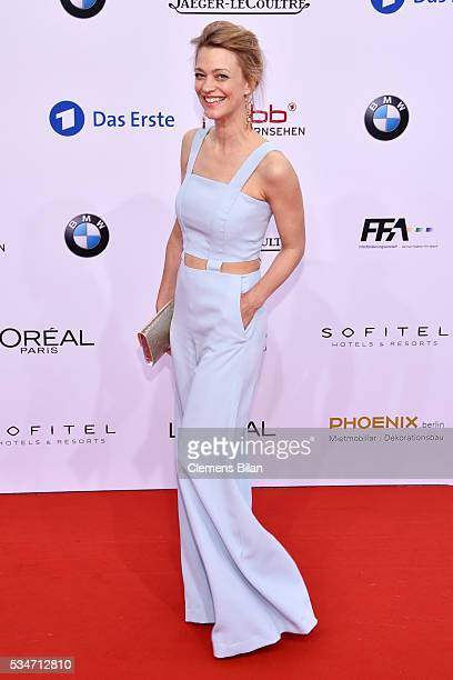 Heike Makatsch attends the Lola German Film Award on May 27 2016 in Berlin Germany