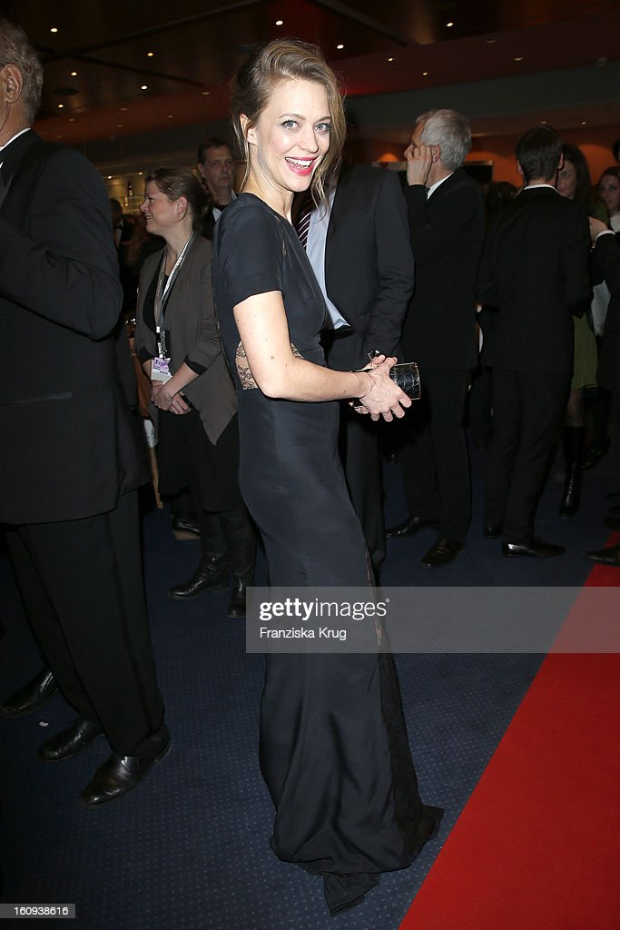 Heike Makatsch attends the 'Opening Party - 63rd Berlinale International Film Festival' at the 63rd Berlinale International Film Festival at the Berlinale Palast on February 7, 2013 in Berlin, Germany.