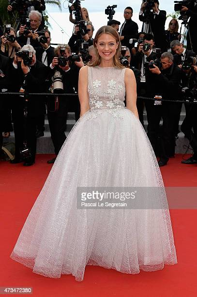 Heike Makatsch attends the Premiere of 'Irrational Man' during the 68th annual Cannes Film Festival on May 15 2015 in Cannes France