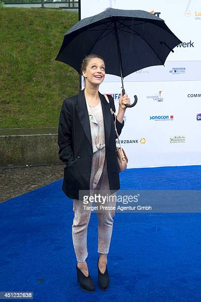 Heike Makatsch attends the producer party 2014 of the Alliance German Producer Cinema And Television on June 25 2014 in Berlin Germany