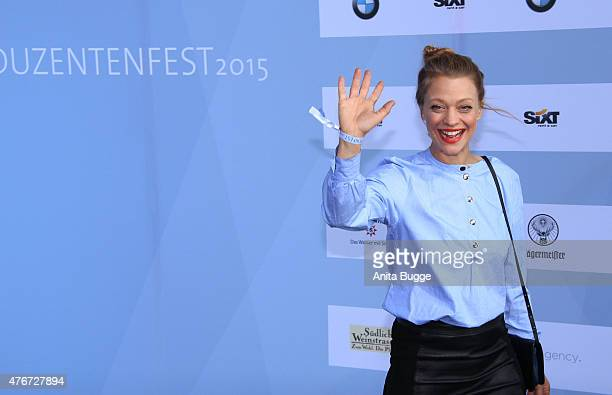 Heike Makatsch attends the producer party 2015 of the Alliance German Producer Cinema And Television on June 11 2015 in Berlin Germany
