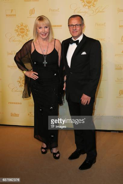 Heike Maurer and Mann Ralf Immel attend the 7th VITA Charity Gala in Wiesbaden on September 24 2016 in Wiesbaden Germany