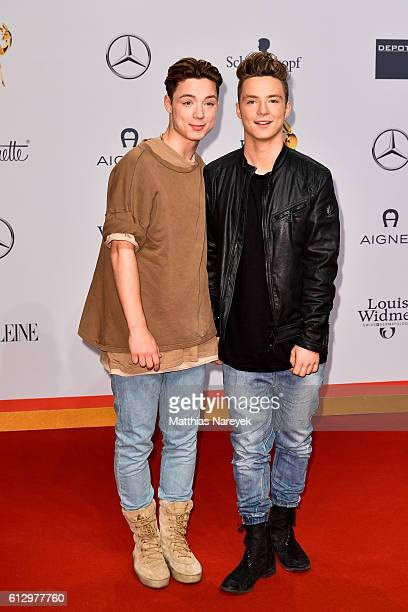 Heiko and Roman Lochmann aka Die Lochis attend the Tribute To Bambi at Station on October 6 2016 in Berlin Germany