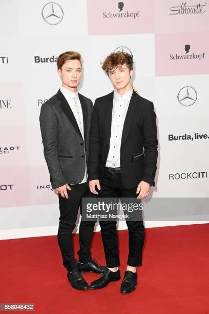 Heiko and Roman Lochmann of the band 'Die Lochis' attend the Tribute To Bambi at Station on October 5 2017 in Berlin Germany