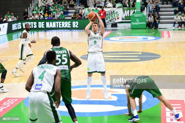Heiko Schaffartzik of Nanterre during the Basketball Champions League match between Nanterre 92 and Sidigas Avellino on October 18 2017 in Nanterre...