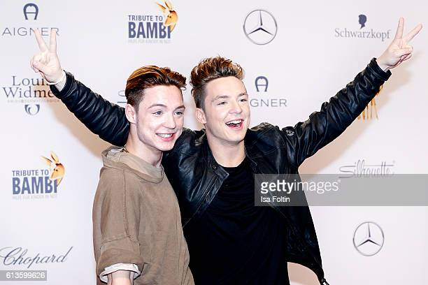 HeikoLochmann and Roman Lochmann alias 'Die Lochis' attend the Tribute To Bambi at Station on October 6 2016 in Berlin Germany