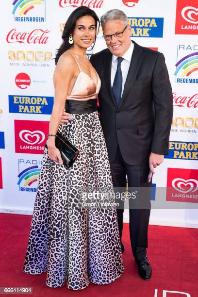 Heiner Kamps and his wife Ella Kamps attend the Radio Regenbogen Award 2017 at Europapark on April 7 2017 in Rust Germany