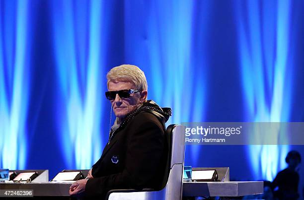 Heino attends the 'Deutschland sucht den Superstar' show from Leipzig on May 5 2015 in Leipzig Germany