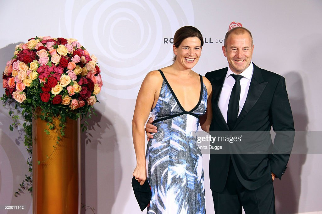 <a gi-track='captionPersonalityLinkClicked' href=/galleries/search?phrase=Heino+Ferch&family=editorial&specificpeople=220625 ng-click='$event.stopPropagation()'>Heino Ferch</a> and Marie-Jeanette Ferch attend the charity event 'Rosenball' at Hotel Intercontinental on April 30, 2016 in Berlin, Germany.