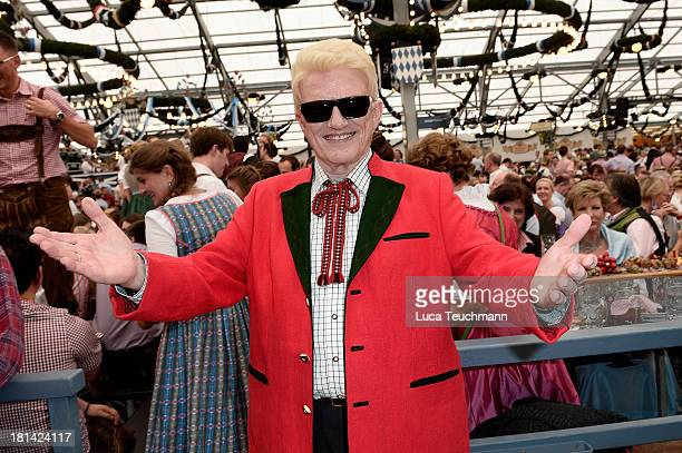 Heino is seen at Theresienwiese on September 21 2013 in Munich Germany