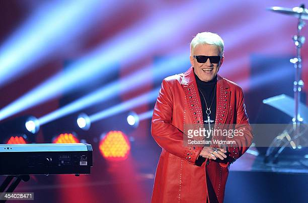 Heino performs during the taping of the 'Menschen 2013' Show on December 6 2013 in Munich Germany
