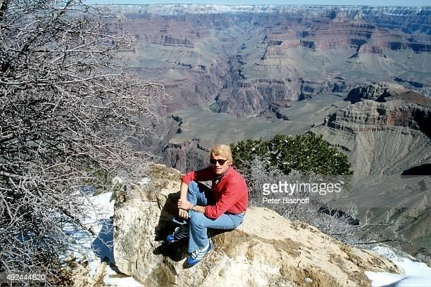 'Heino während 3 USATournee am im Grand Canyon USA '