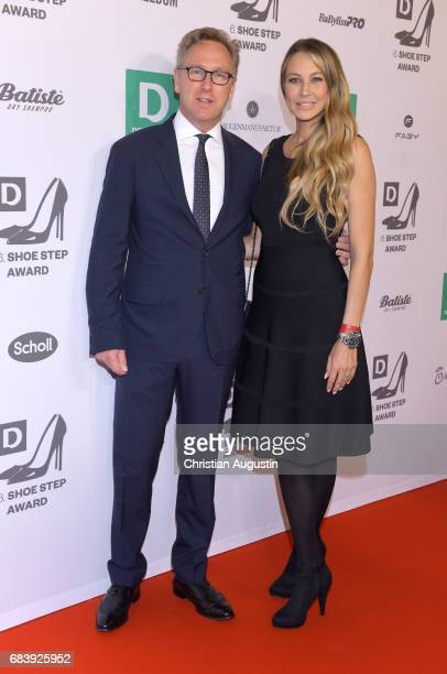 Heinrich Deichmann and Alessandra MeyerWoelden attend the Deichmann Shoe Step of the year award at Curio Haus on May 16 2017 in Hamburg Germany