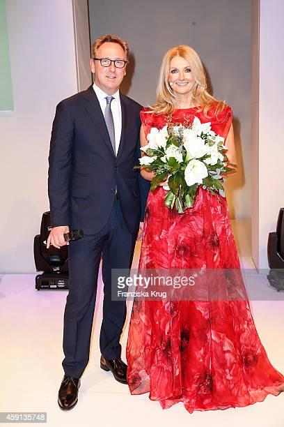 Heinrich Deichmann and Frauke Ludowig attend the Deichmann Shoe Step of the Year 2014 on November 17 2014 in Hamburg Germany