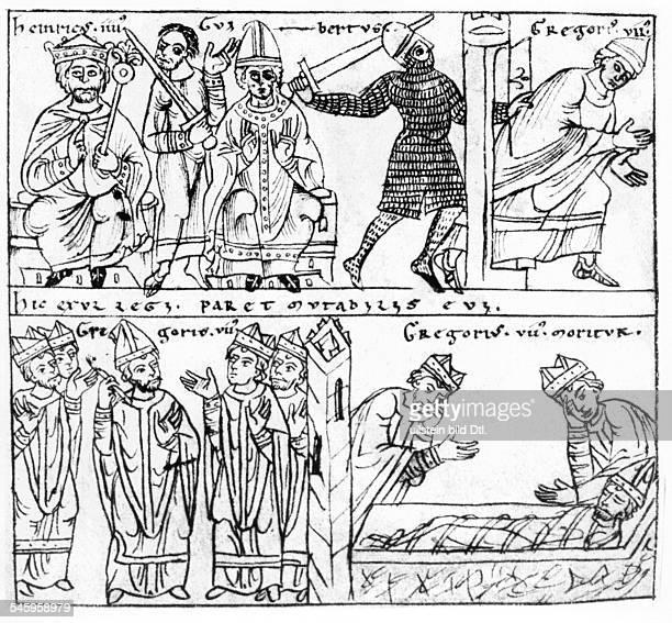 Heinrich IV *1111105007081106deutscher König 10561106römischer Kaiser 10841106oben Heinrich IV weist zusammen mit demvon ihm bestellen Gegenpapst...