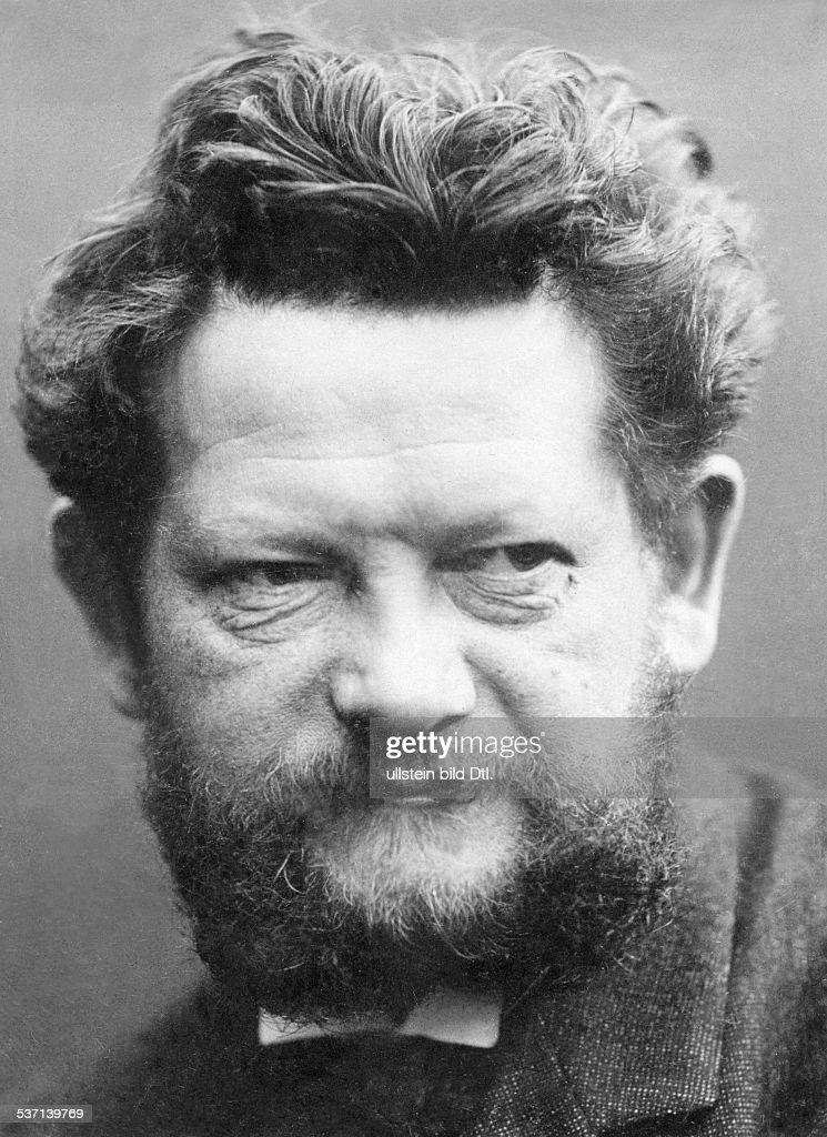 <b>Heinrich Zille</b> (*10.01.1858-+) , Bildender Künstler, Zeichner, - heinrich-zille-bildender-knstler-zeichner-fotograf-d-portrt-1904-foto-picture-id537139769