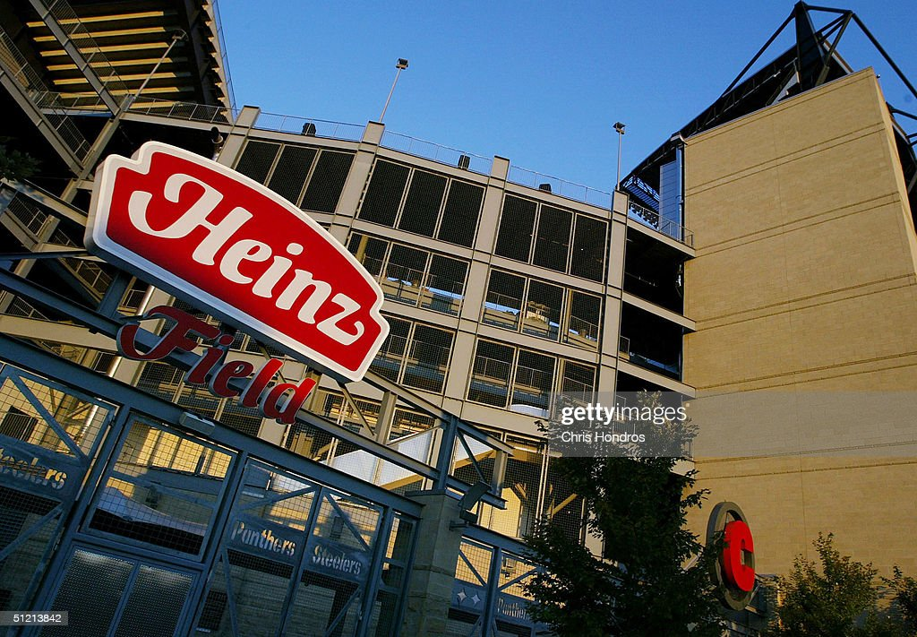 Heinz Field, home of the Pittsburgh Steelers, is seen August 23, 2004 in Pittsburgh, Pennsylvania. H.J. Heinz Co reported its first-quarter earnings fell 9 percent compared to last year with with strong sales in North America.