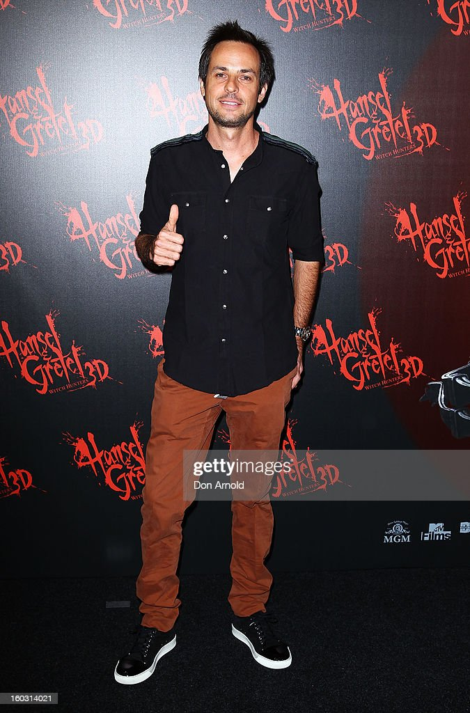 Heinz Haas arrives at the Australian Premiere of 'Hansel & Gretel Witch Hunters' at Event Cinemas on January 29, 2013 in Sydney, Australia.