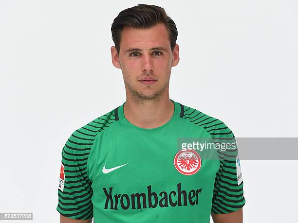 Heinz Lindner poses during the Eintracht Frankfurt Team Presentation on July 21 2016 in Frankfurt am Main Germany
