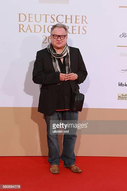 Heinz Rudolf Kunze der deutsche Saenger beim Deutschen Radiopreis 2012 Verleihung im Schuppen 52 in Hamburg