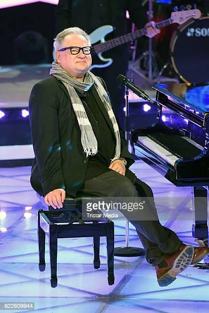 Heinz Rudolf Kunze during the 'Die Schlager des Jahres' on November 11 2016 in Suhl Germany