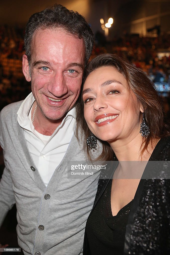 Heio von Stetten and Elisabeth Romano attend the show 10 years of Appassionata - Friends Forever on January 4, 2013 in Munich, Germany.