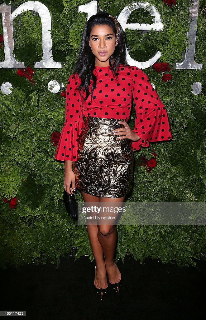 Heiress Hannah Bronfman attends the Nielsen Host Pre-Grammy Celebration at Herringbone, Mondrian LA on January 25, 2014 in Beverly Hills, California.